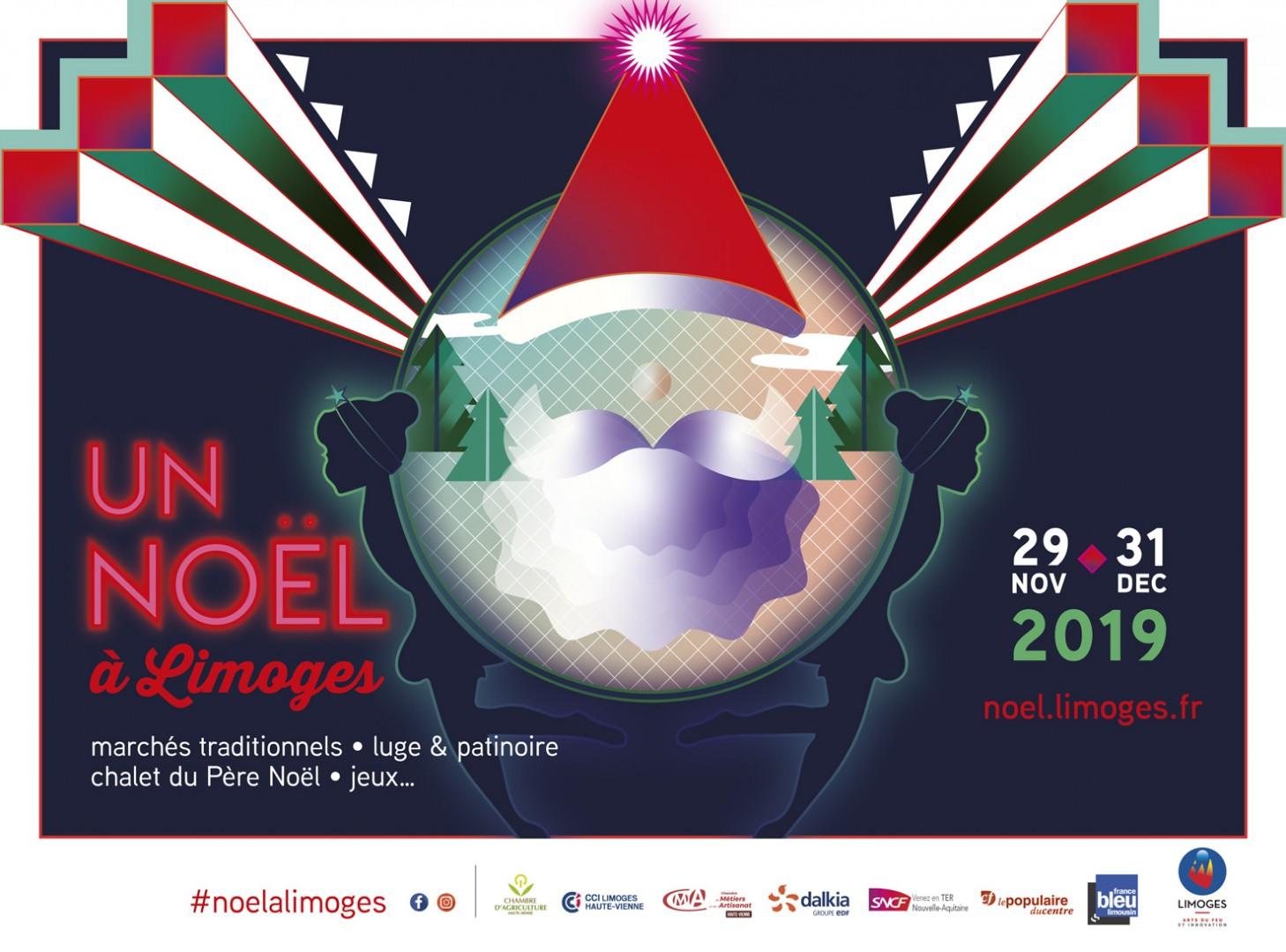 Marché de Noël à Limoges