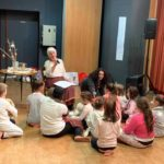 Luce, une choriste de la chorale adulte jouait le rôle de la mamie des mini kids
